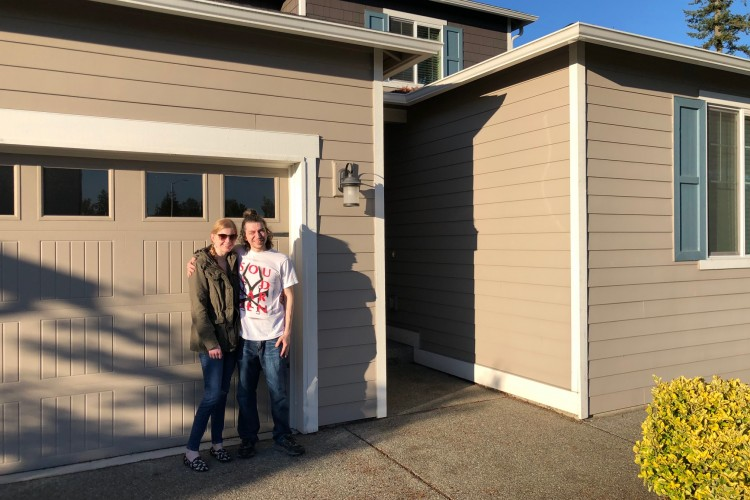 First time home buyers! Congrats!
