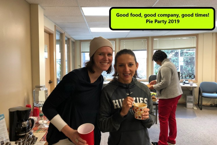 Pie Party 2019_Kate and Daria text