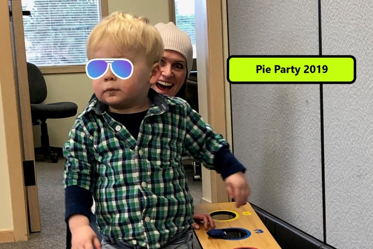 Pie Party_Kid Time text